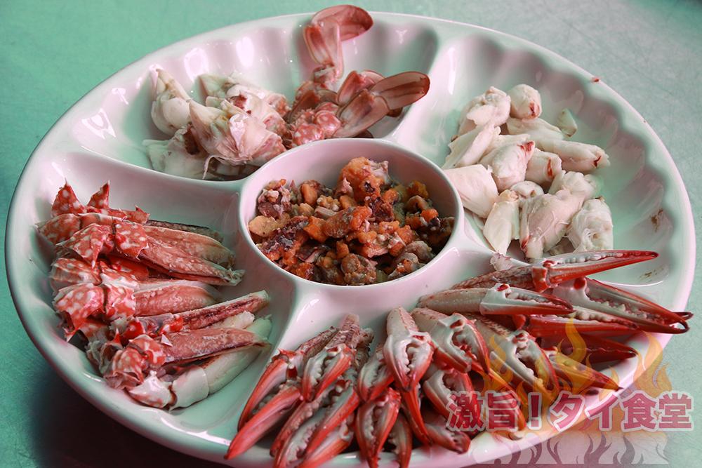 ハジャイで茹で蟹をたらふく食べられる店!