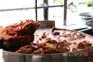 カオカームーの鍋