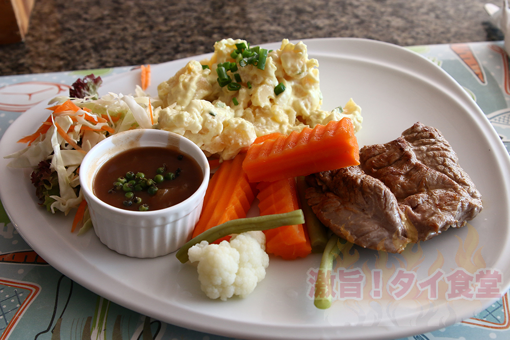 【パタヤ】24時間オープン!ソイ8にある<br/>コスパの高いステーキレストラン