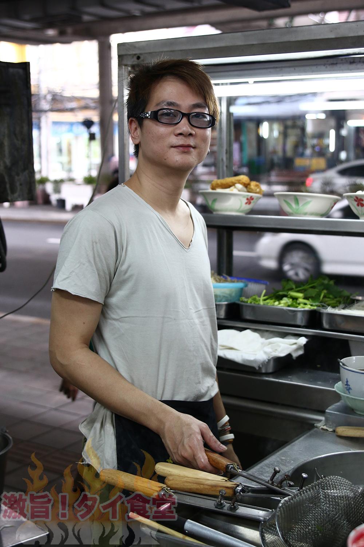 【BTSバンジャーク駅】有名人も来店する優しいクイッティアオで癒される
