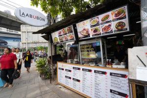 BTSスラサック駅から徒歩1分で本格イサーン料理『ラープウボン/LAAB UBON』