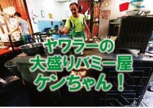 【動画】ヤワラー大盛りバミー屋『バミージャップガン』のケンちゃん!