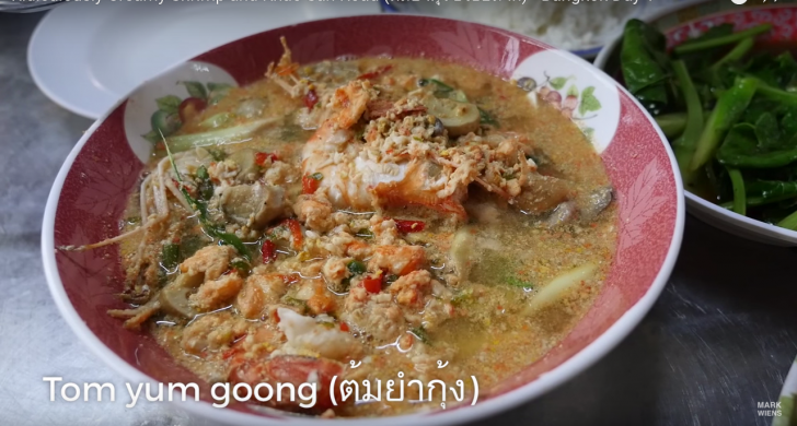 Ridiculously Creamy Shrimp and Khao San Road