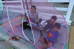 サムットサコーン県|タイで話題になった蚊帳の屋台に行ってみた