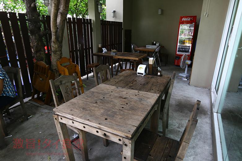 Khaojao(カオジャオ)テラス席
