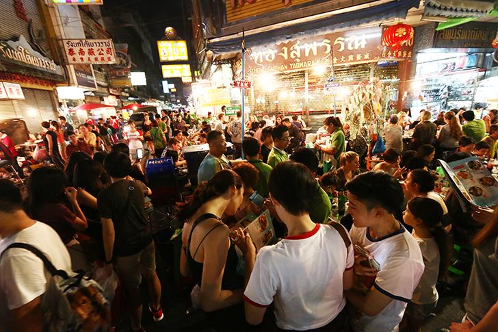 バンコクで行っておきたい5つの屋台街|2017年度版