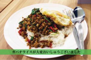 チットロムで出会った旨すぎるガパオライス| The Best street food of Bangkok