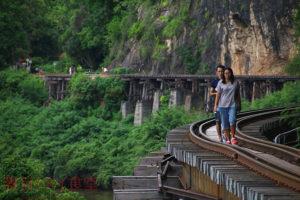 【終了】10/29 絶壁のそばを通る「アルヒル桟道橋」&クウェー川を眺めながらタイ料理ランチ