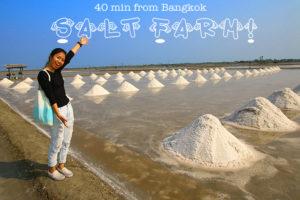 【終了】乾季限定の塩田ツアー&海上に浮かぶレストラン『Bangkok Sea View Restaurant』でランチ
