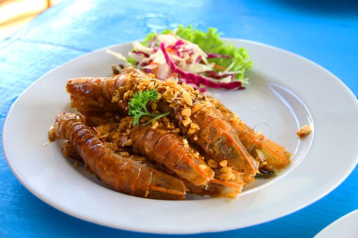 クッド島ならシーフード!エビやシャコなどの海鮮が満喫できる『Noochy Seafood』